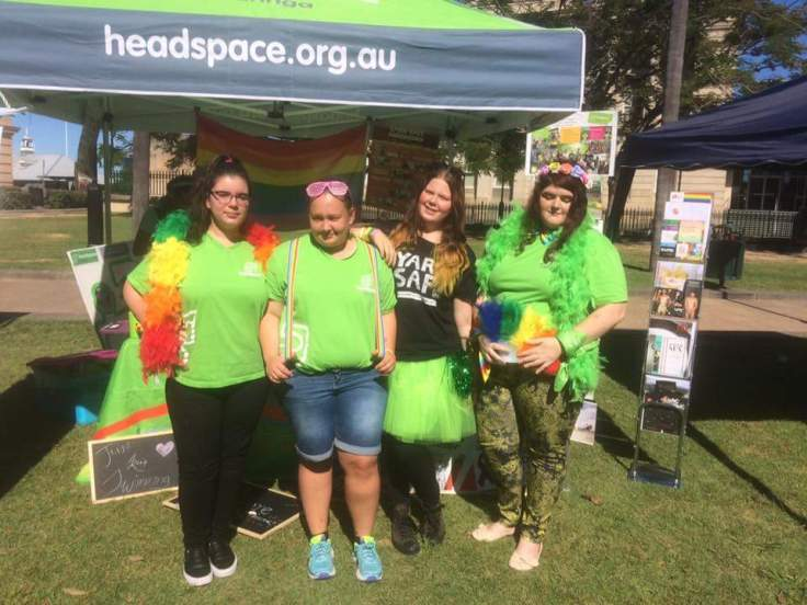 IDAHOT group with seqld volunteers